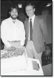 Picture of Steve Wozniak and Charles Mann